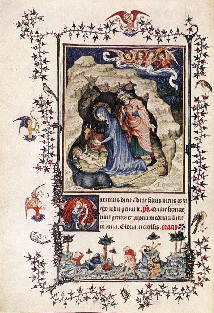 Turin-Milan Hours c. 1420. Manuscript (Ms. 47), 284 x 203 mm Biblioteca Nazionale Reale, Turin.