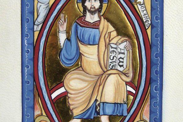 Christ en Mandorle (enluminure)