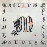 Abécédaire enluminé – Lettres cadelées