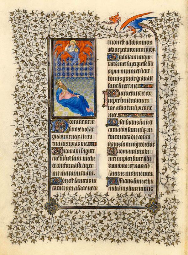 Psaume 38 - Psaumes pénitentiels.