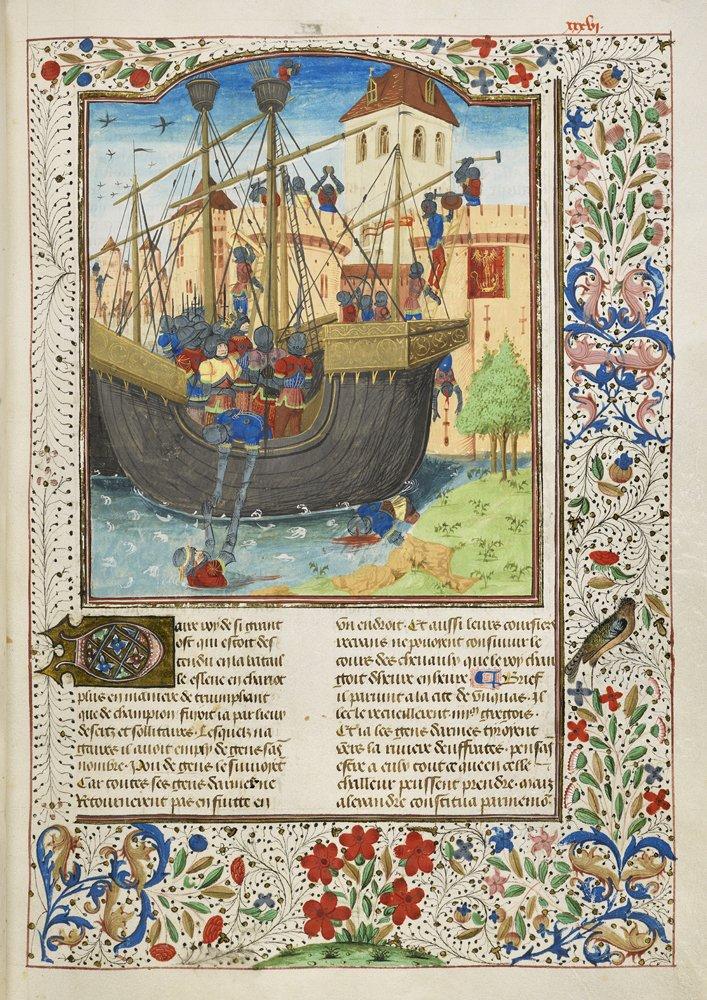 Lenluminure Médiévale
