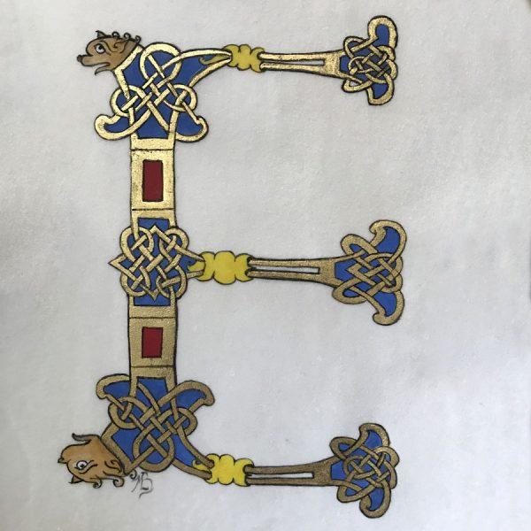 Initiales du Mont-Saint-Michel