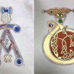 Initiales du livre de Kells